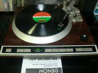 DENON DP-45F DP45F Turntable Vintage Cartrige A.Technica Working Near Mint Rare