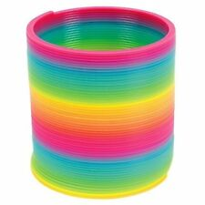 Windup Toys Magic Spring Inch, Plastic, Rainbow