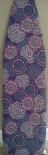 Ironing board cover, quilted double sided, new, padded, purple medallion