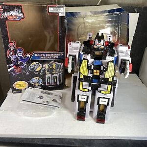 Power Rangers Spd Delta Command Megazord 2005 Playset Bandai BOXED