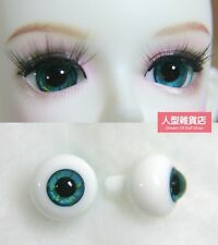 14mm  For BJD DOD AOD MK OK RD Doll Dollfie Glass Eyes Outfit ling blue 29