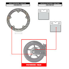 BREMBO REAR DISC (+ BRAKE PADS) - BMW R 1100 RS (85-93) - 68B407C8