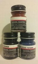Testors Model Master Enamel paint 3pcs bundle