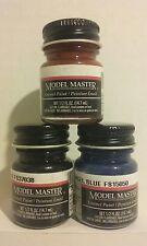 Testors Model Master Enamel paint 3pcs bundle