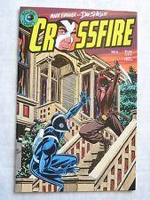 Eclipse Comics CROSSFIRE #6 - Mark Evanier & Dan Spiegle