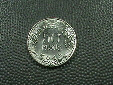 COLOMBIA    50  Pesos    2013    BRILLIANT  UNCIRCULATED   ,   BEAR