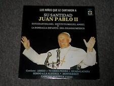 Los Ninos Que Le Cantaron A Su Santidad Juan Pablo II~Mexican IMPORT~FAST SHIP!