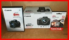 🔥 NEW USA EDITION Canon EOS Rebel T7 DSLR Camera with 18-55mm Lens Kit & EXTRAS