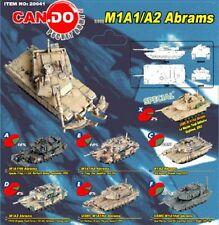 RARE SET SIX DRAGON ARMOR CANDO ABRAMS M1AHA TANKS A THRU F 1/144 20041