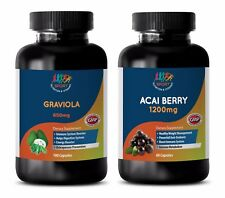 weight loss herbal products - GRAVIOLA - ACAI BERRY COMBO 2B - graviola tablets