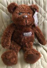"Hershey's CHOCOLATE BROWN TEDDY BEAR 8"" Plush STUFFED ANIMAL Toy"