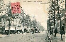 Carte VINCENNES Rue de Paris