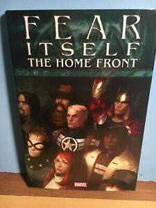 """FEAR ITSELF """"The Home Front"""" HC Graphic Book - Marvel NM 2008 1st Pr.AVENGERS"""