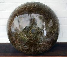 Große Plafoniere im Kalmar oder Hillebrand Style - dickes Eisglas