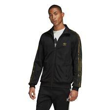 Adidas Originals Camouflage Track Jacket Men's Casual Sweatshirt Black [FM3363]