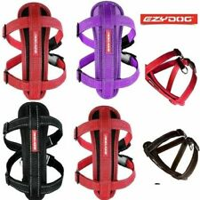 EZYDOG CHEST PLATE DOG HARNESS - Strong and Comfortable ALL COLOURS & SIZE
