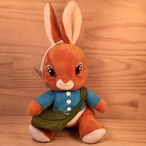 "PETER RABBIT ""Brown"" Beautiful Kids Rabbit Character Soft Toy Stuffed Friend"