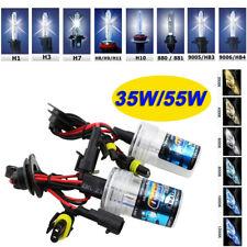 35/55W CAR HID XENON CONVERSION BULBS H1 H3 H4 H7 H8 H9 H11 9005/6 D1S D2S LAMPS