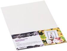 Paquete De 3 hojas de papel Masking A4 Bajo Tachuela Estampado troquelado por Hunkydory