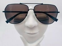 Vintage Nautica N9207S Black Metal Aviator Sunglasses FRAMES ONLY