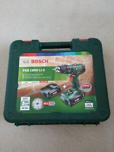 Genuine Empty Carry Case for Bosch PSB 1800 LI-2 18V Drill new model
