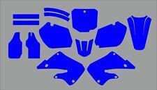 Honda CR 250 MX Motocross 1997 1998 1999 Graphics Template vector EPS