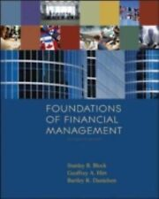 Foundations of Financial Management w/SAndP bind-in card + Time Value-ExLibrary