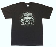 Zz Top Est. '69 Hot Rod 2008 Tour Black T-Shirt Medium New Official