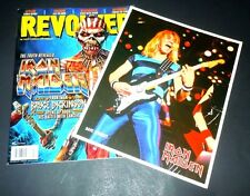 Iron Maiden~Revolver Magainze~Eddie~December 2015~Bruce Dickinson~Steve Harris~