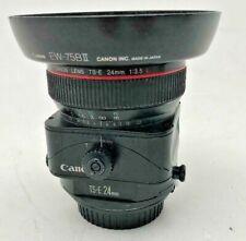 Canon EF 24mm L f3.5 TSE lens