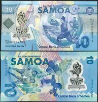 Western Samoa 10 Tala ND 2019 Polymer P 45 COMM. UNC