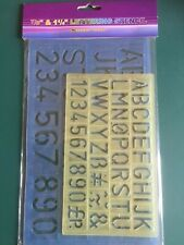 "Student Line 7/8"" & 1 1/4"" Lettering Stencils"
