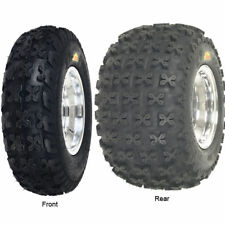 YAMAHA RAPTOR 700 FRONT & REAR WHEEL RIM TIRE KIT COMBO