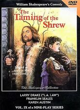 The Taming of the Shrew (DVD, 1998) BRAND NEW FACTORY SEALED SHORT PRINT RARE