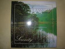 SERENITY - IN CLASSICAL MOOD CD & BOOK VGC BEETHOVEN - MOZART - SCHUBERT