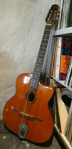 Guitare Jazz Manouche Petite Bouche XP Guitar AG380 14 cases hors caisse