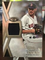 2020 Topps Tier One Chris Sale Relic /395 Boston Red Sox T1R-CS