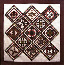 "BOTM Complete Block of The Month Sampler Quilt Pattern  90""x90""  12 Blocks"