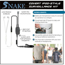 SNAKE Q-Release Ipod-Style Headset for Motorola HT MTX MTP EX PTX (See List)