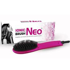 Professional NEO ionic heat straightening PINK soft touch BRUSH