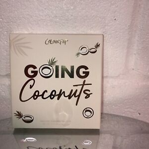 ColourPop Going Coconuts Palette Eyeshadow NIB New Authentic 9 Colors