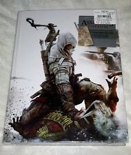 New Assassins Creed 3 Collectors Edition Hardcover Guide + Steelcase & Necklace