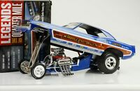 1971 PLYMOUTH CUDA Whipple & McCulloch DRAGSTER FUNNY CAR 1:18 Auto World ERTL