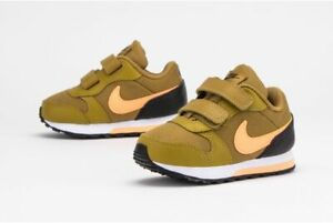 Nike MD Runner 2 Girls Shoes Trainers Children Brown Toddlers Shoes  806255 700