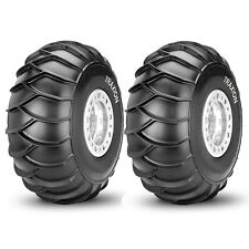 PAIR OF (2) TRAXION SNOWMAX SPORT ATV REAR TIRES 22x10x9 22x10-9 4-SNOW