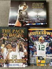 New listing Green Bay Packers Super Bowl 45 Books Aaron Rodgers