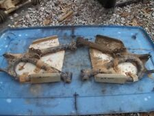 2002 YAMAHA GRIZZLY 660 4WD REAR LEFT RIGHT LOWER A-ARMS WITH SKID PLATES