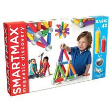 SmartMax SMX 501 Basic 42 Riesenmagnet-Bauset Magnetspiel Baukasten Spielzeug
