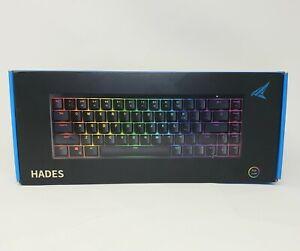 Durgod Hades 68 RGB Mechanical Gaming Keyboard /Cherry RGB Speed Silver Switch