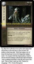 Juego de tarjetas coleccionables de Lord of the Rings